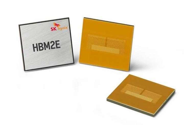 SK Hynix tek kümede 460 GB/s hıza ulaşan HBM2E belleğini duyurdu