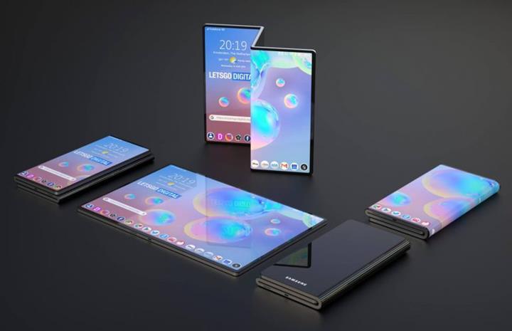 Samsung Z şeklinde katlanabilen akıllı telefon patenti aldı