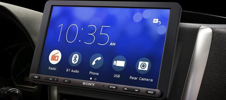 Sony'den yeni araç içi eğlence sistemi: XAV-AX8000