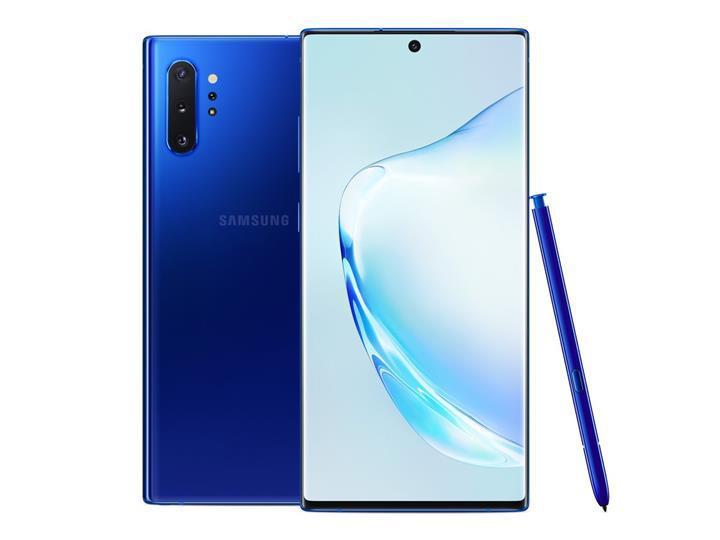 Samsung Galaxy Note 10 Plus'ın Aura Mavisi rengi Avrupa'ya geliyor
