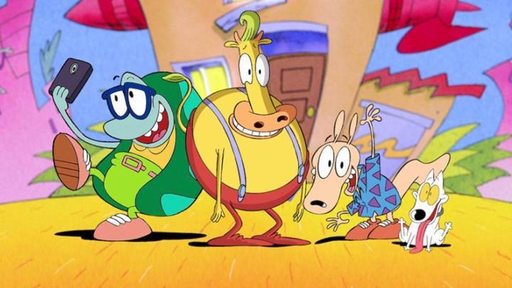 Rocko's Modern Life ve Invader Zim animasyon filmleri Netflix'te
