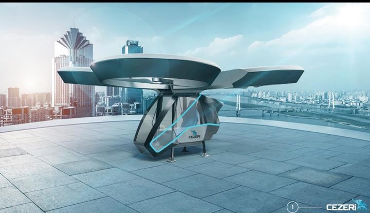 Yerli uçan arabanın prototipi yayınlandı: Önümüzdeki ay uçacak