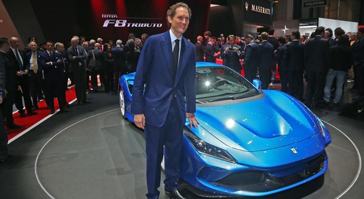 Ferrari Başkanı şirketin yeni süper otomobili hakkında konuştu