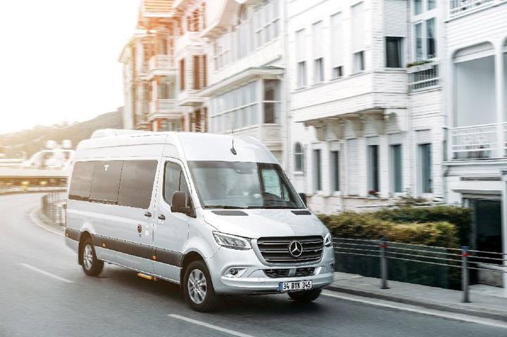Yeni Mercedes-Benz Sprinter'ın öne çıkan teknolojileri
