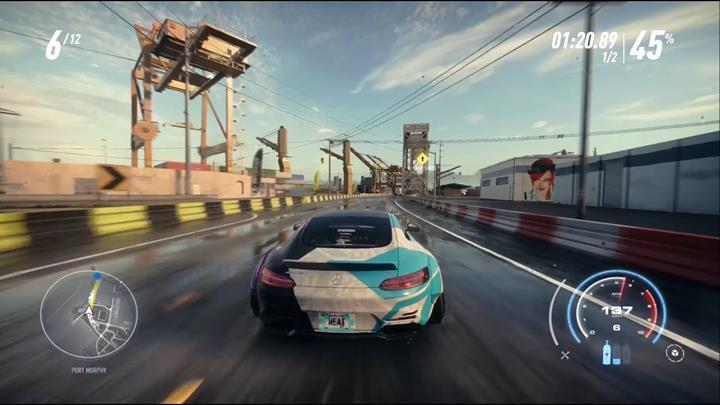 Need for Speed Heat'in 4K 60FPS kalitede oynanış görüntüleri