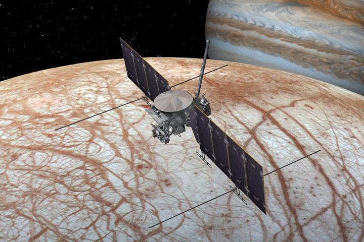 NASA, Jüpiter'in uydusu Europa'ya düzenlenecek görev için yeşil ışık yaktı