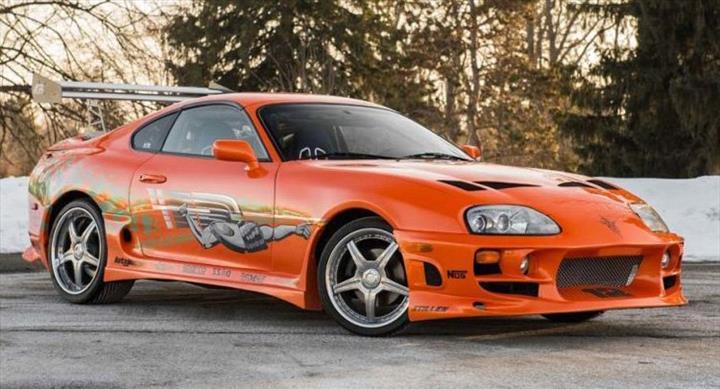 Yeni Toyota Supra, Hızlı ve Öfkeli 9'un setinde görüntülendi