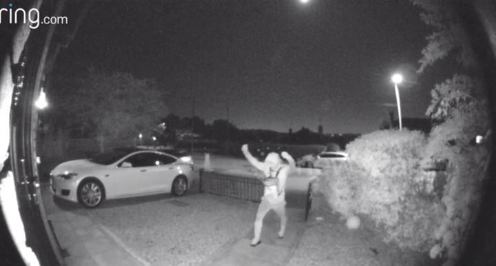 Hırsızlar İngiltere'de bir Tesla aracı 30 saniye içinde çaldı