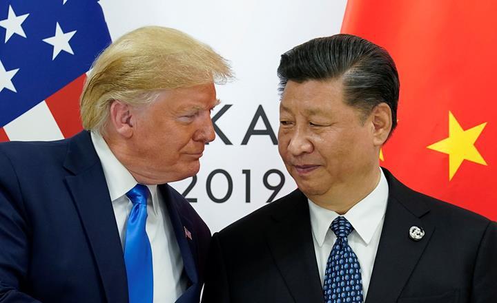 ABD başkanı Trump, Çin'e uygulanan vergi tariflerinin arttırıldığını açıkladı