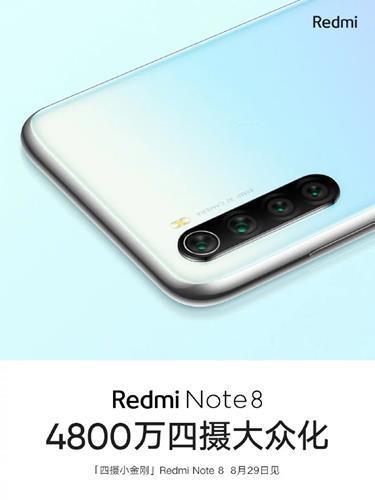 Redmi Note 8'in kamera görseli paylaşıldı