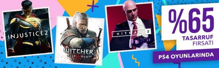 PlayStation Store'da %65'e varan indirimler fırsatı