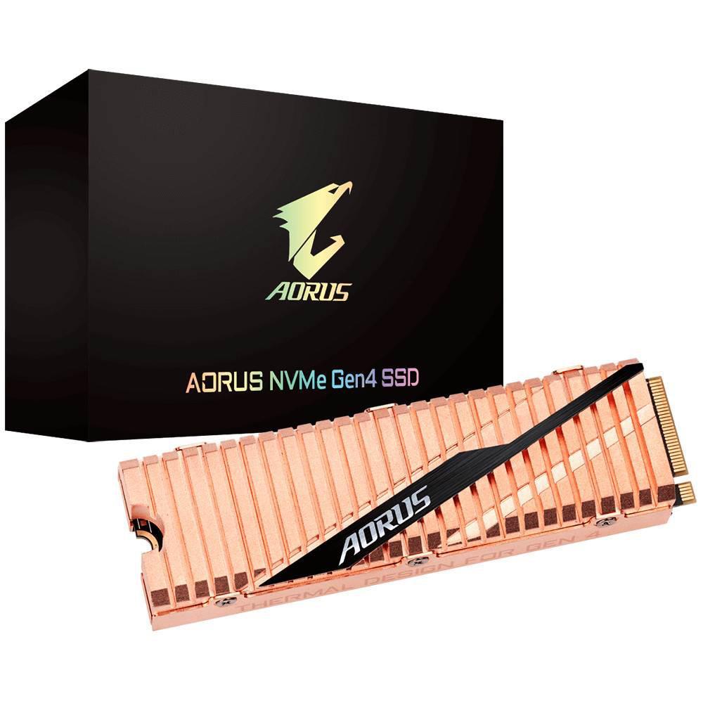 Gigabyte yeni PCIe 4 SSD modelini duyurdu
