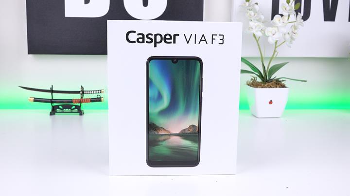 2 günü rahatlıkla deviren telefon 'Casper VIA F3 incelemesi'