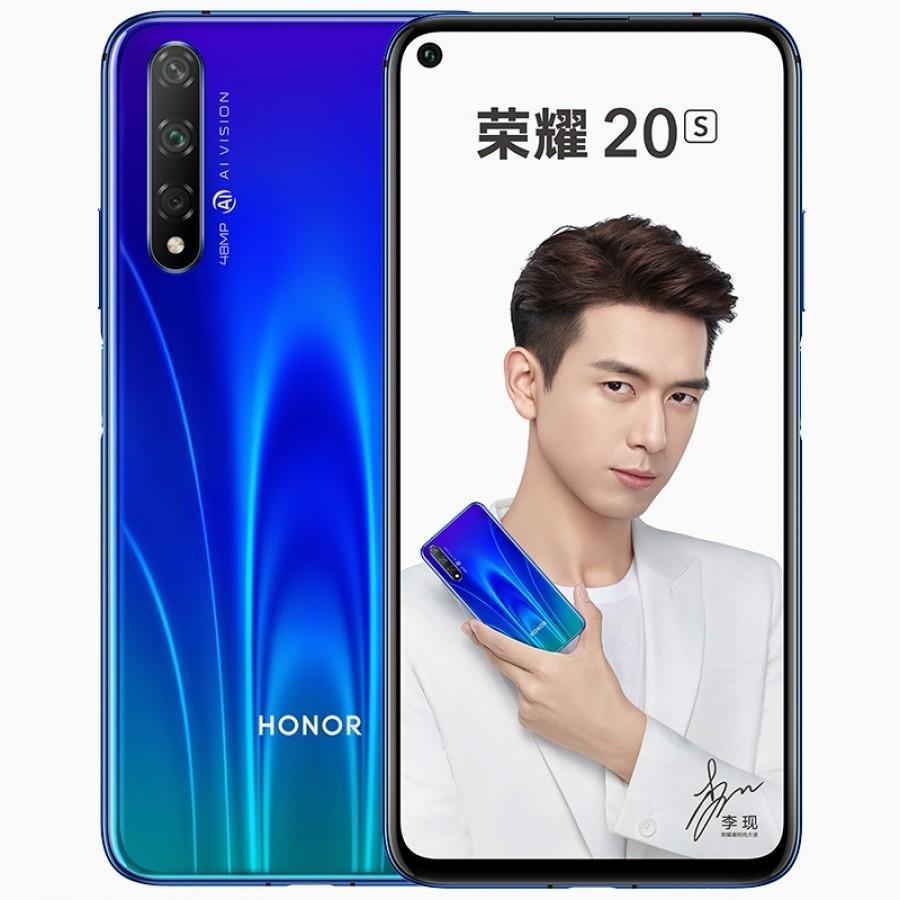 Honor 20S'in ön tasarımını açığa çıkaran yeni görseller yayınlandı
