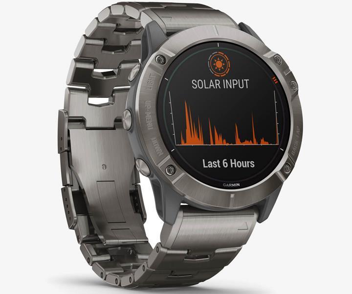 Garmin güneş enerjisi ile çalışan Fenix 6 serisi akıllı saatini tanıttı