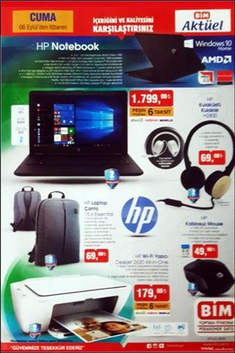 Haftaya BİM marketlerde HP ürünleri geçidi var
