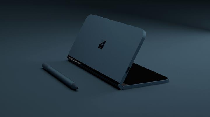 Microsoft'un katlanabilir cihazı 360 derece menteşe ve manyetik kapakla gelebilir