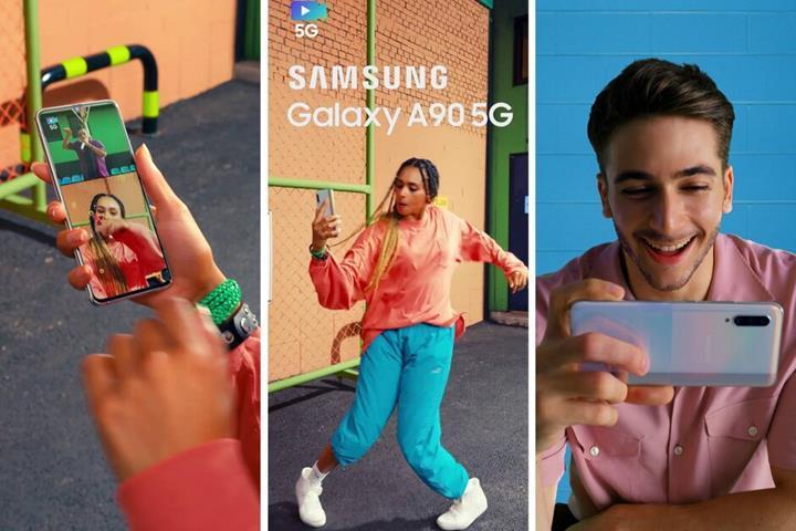 Samsung Galaxy A90 5G resmi görsellerle karşınızda