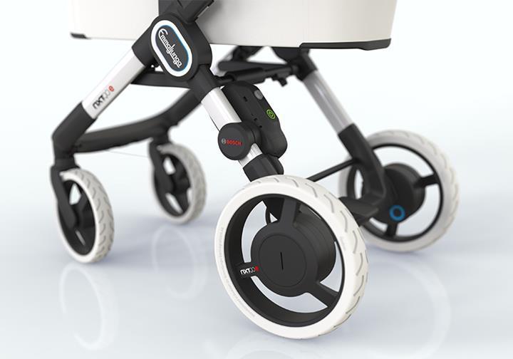 Bosch, elektrikli bebek arabası sistemini tanıttı