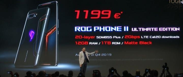 Asus ROG Phone 2 Ultimate Edition tanıtıldı
