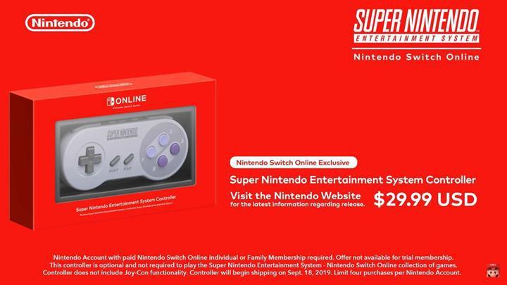 Super Nintendo oyunları, Switch Online üyeleri için indirilebilir hale geldi