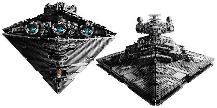 LEGO, Star Wars ürünleri kataloğuna Imperial Star Destroyer'ı da ekliyor