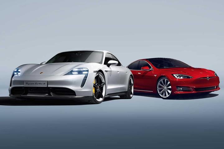 Tesla Model S, Porsche Taycan'ın Nürburgring rekorunu kırmaya geliyor