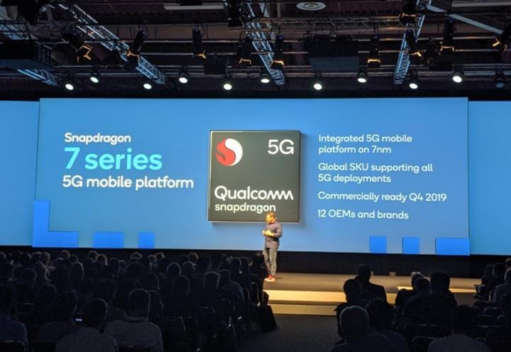 Qualcomm'un 5G özellikli 6 ve 7 serisi yonga setleri önümüzdeki yıl gelecek