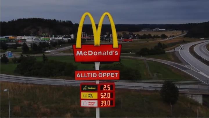 McDonald's İsveç, elektrikli araç sahipleri için McCharge programını devreye soktu