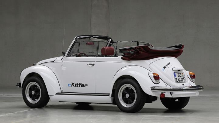 Volkswagen klasik Vosvos yani Beetle araçlarını elektrikli hale getirecek