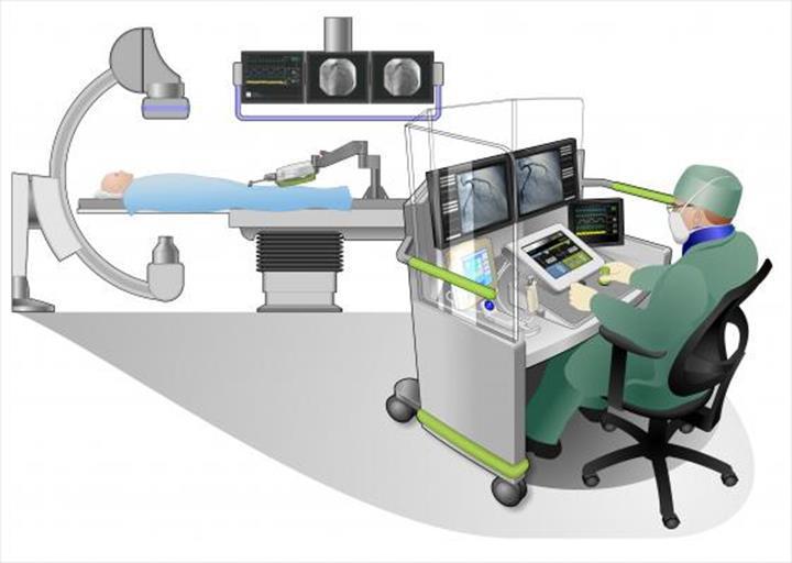 Dünya'nın ilk uzak mesafe kalp ameliyatı, bir robot yardımıyla gerçekleştirildi