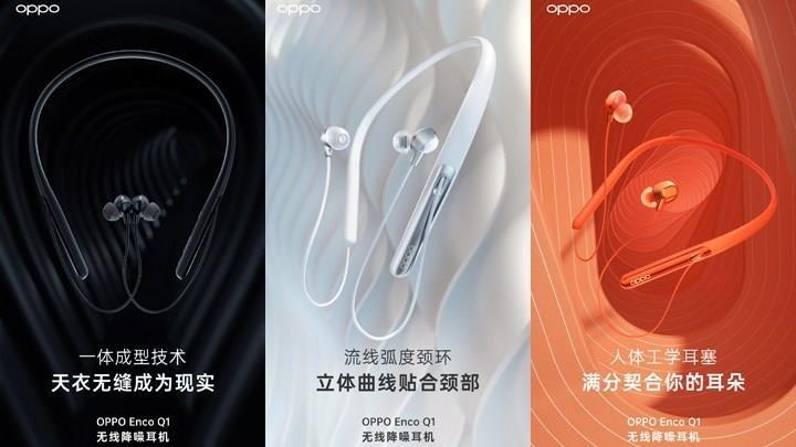 Oppo Enco Q1 kablosuz kulaklıklar satışa çıkıyor