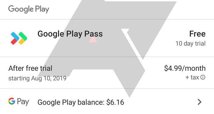 Google Play Pass abonelik hizmeti yakında başlıyor