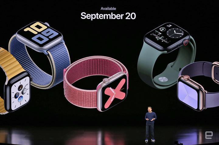 Apple Watch Series 5 akıllı saati tanıtıldı