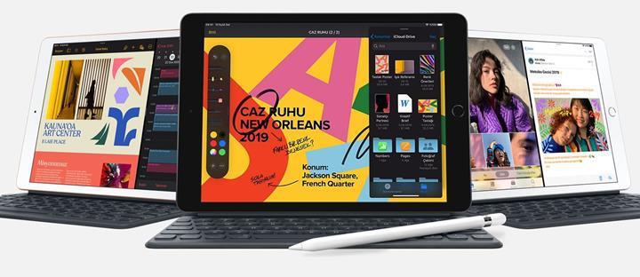 10.2 inç ekrana sahip 7. nesil iPad tanıtıldı