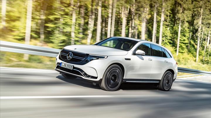 Mercedes'in elektrikli SUV modeli 2020'de Türkiye'de