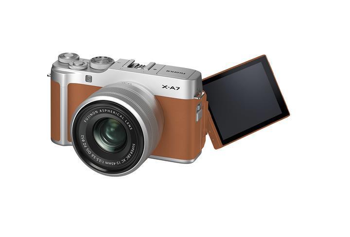 Giriş seviyesi Fujifilm X-A7 aynasız kamera duyuruldu