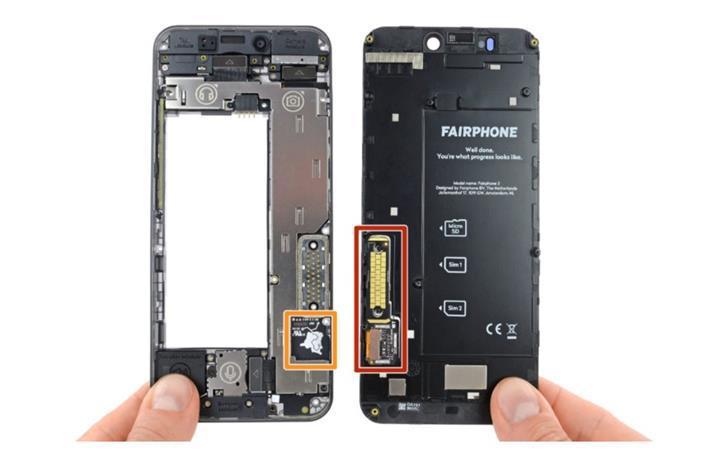 En kolay tamir edilebilir telefon Fairphone 3