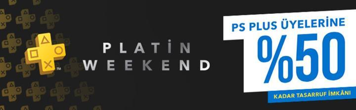 Sony'den PS Plus üyelerine özel 'Platin Weekend' indirimleri