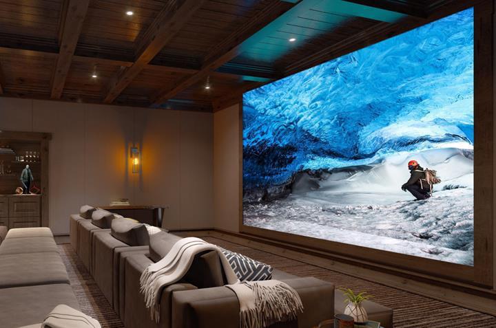 Sony'den milyon dolarlık 16K çözünürlüğünde sinema ekranı