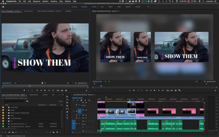 Adobe Premiere Pro videoların en boy oranını yapay zeka ile düzenleyecek
