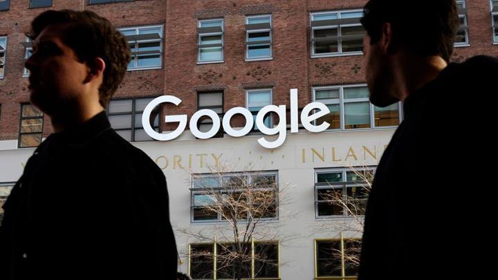 Fransa'da Google'a 1 milyar Avroluk ceza