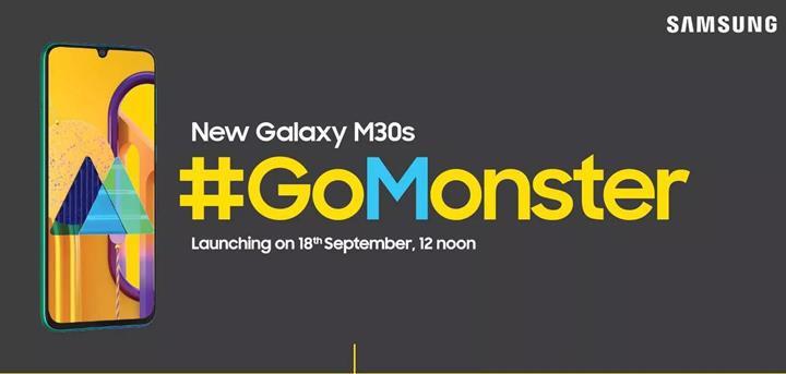 Samsung Galaxy M30s, Avrupa'da da piyasaya sürülecek
