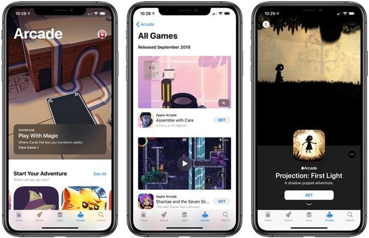 Apple Arcade hizmeti iOS 13 kullanıcıları için başlatıldı