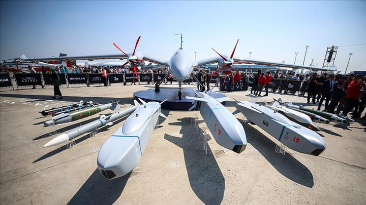 Savaş uçaklarının yükünü azaltacak Akıncı İHA sahnede
