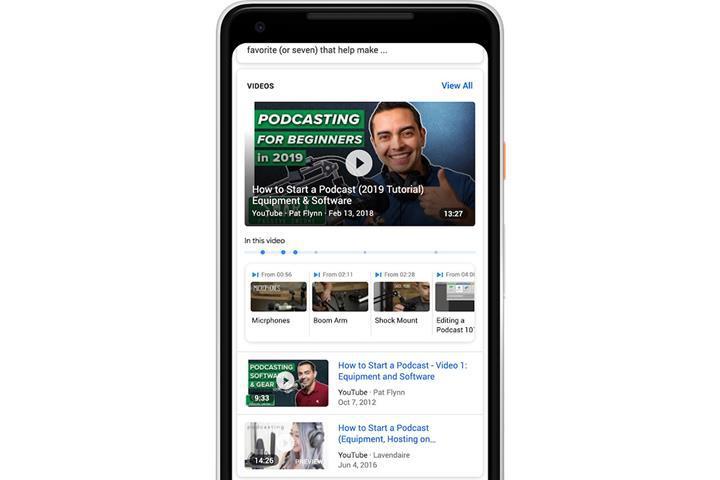 Artık Google aramalarında videoların belirli bölümlerini de bulabileceksiniz