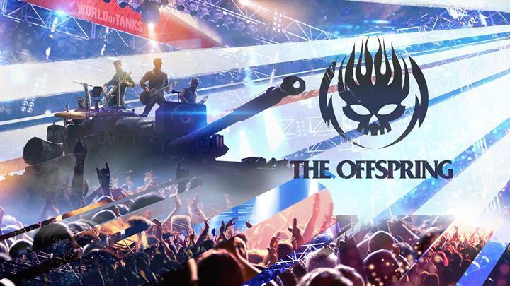 World of Tanks oyuncularına The Offspring konseri