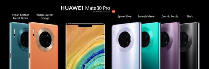 Kamerasıyla dikkat çeken Huawei Mate 30 Pro tanıtıldı