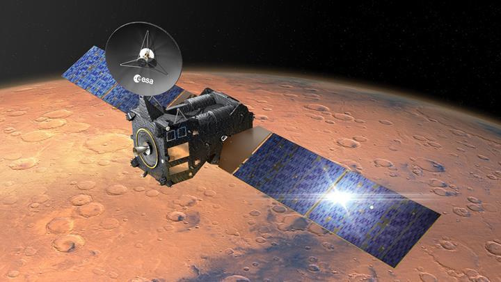 """Mars'ın kuzey kutbu kum tepelerinin """"dondurmaya"""" benzeyen fotoğrafı paylaşıldı"""