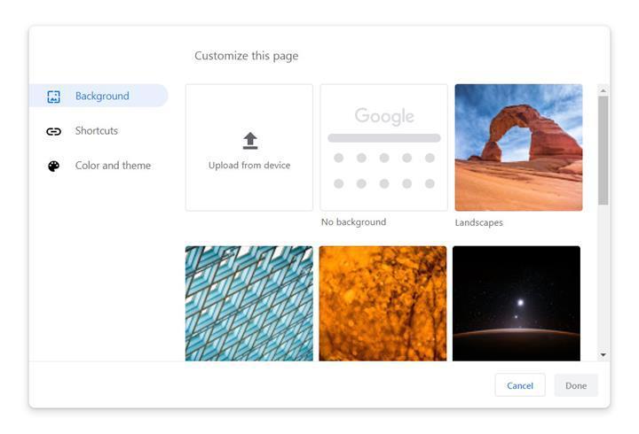Chrome tarayıcısına tema oluşturucu eklendi ve sekme görünümü iyileştirildi